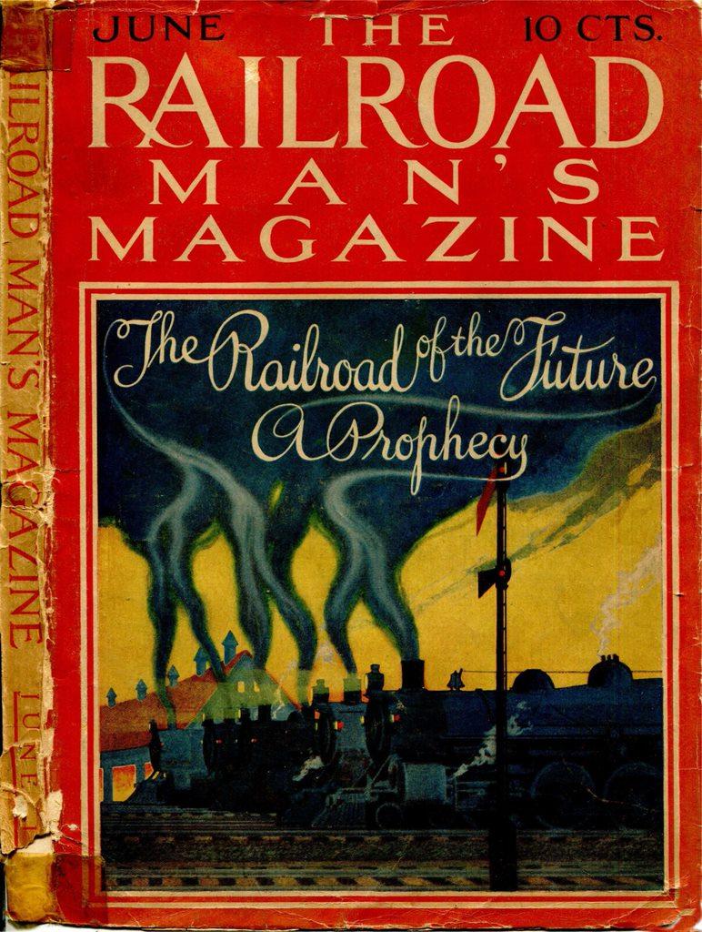 The Railroad Man's Magazine, June 1916