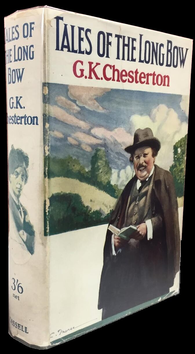 British first edition dustjacket of Tales of the Long Bow