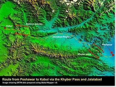 Peshawar to Kabul via Khyber Pass