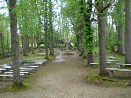 Lieu de recueil à Notre Dame de Tonnetau